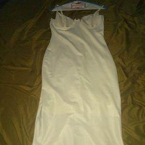 Dresses & Skirts - White satin dress
